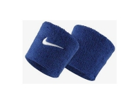 Terry cloth wristband Nike Swoosh navy blue /2pcs/ NN04402
