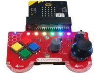 Bilde av 4tronix Bitcom, Controller, Micro:bit, Svart, Blå, Rød, Gult, Forskjellige