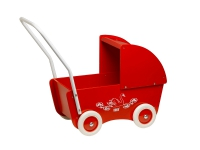 Krea Doll Pram Red