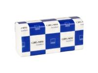 Bilde av Håndklædeark Abena Care-ness Excellent 2-lags Z-fold, 24x23,5 Cm Hvid M/160 Ark - (karton á 25 Pakker)