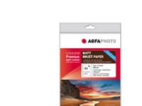 Bilde av Agfaphoto Ap13050a4m, Inkjet-utskrift, A4 (210x297 Mm), Matte, 50 Ark, Rød, Hvit, 130 G/m²