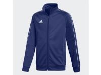 Adidas CORE 18 TRACK TOP M Sportstrøje Barn Hanstik Blå Monoton M