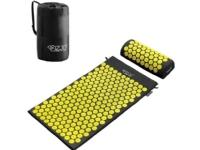 Bilde av 4fizjo Acupressure Mat With Spikes + Pillow (yellow)