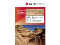 Bilde av Agfaphoto - Blank - 100 X 150 Mm - 210 G/m² - 100 Ark Fotopapir