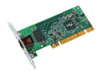 Intel PRO/1000 GT Desktop Adapter - Netværksadapter - PCI lavprofil - Gigabit Ethernet