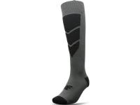 Bilde av 4f Ski Socks H4z20-somn004 Dark Gray Melange. 43-46