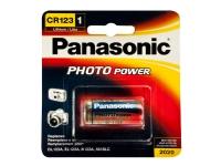 CR123 A, 3V, 1400mAh Li-Ion, Photo Power