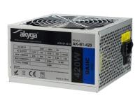 Bilde av Akyga Ak-b1-420 - Strømforsyning (intern) - Atx12v 2.31 - Ac 230 V - 420 Watt - Pfc - Galvanisert Stål