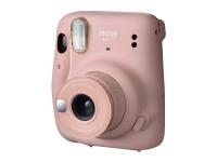 Fujifilm Instax Mini 11 - Instant camera - objektiv: 60 mm - instax mini rosaskimrande