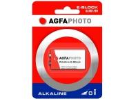 Bilde av Agfaphoto 110-802596, Single-use Battery, Alkalinsk, 9 V, 1 Stykker, Rød, Hvit, 49 Mm