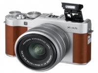 Fujifilm Fujifilm X-A5 + 15-45mm digital camera brown