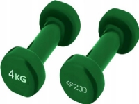 Bilde av 4fizjo Rubberised Dumbbells 2x4kg