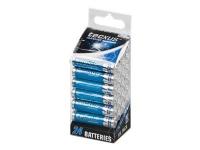 tecxus Micro - Batteri 24 x AAA - alkaliskt