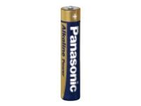 Panasonic Alkaline Power LR03APB/4BP - Batteri 4 x AAA-type - Alkalisk