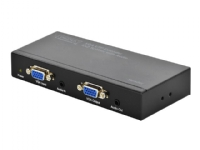 DIGITUS Professional VGA UTP Extender 1X2 Splitter with Audio