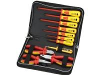 Sprotek ST-7639 verktygskit med 7 mejslar 3 tänger 1000V röd/gul