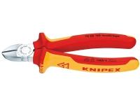 Knipex KP-7006180 Diagonal avbitartång Krom 254 g