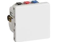 LAURITZ KNUDSEN IHC® Wireless Relæ Allround modtager LK FUGA Hvid