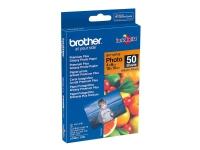 Brother - Skinnende - 100 x 150 mm 50 ark fotopapir - for Brother DCP-J4120, J772, J774, J785, MFC-J2720, J4625, J6530, J6930, J880, J890, J895