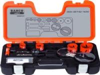 BAHCO Hulsavesæt bi-metal 16-50mm16 20 25 32 40 50mm2 stk holder til hulsave