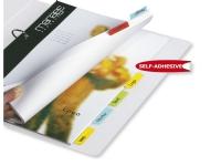 Bilde av Indeksfaner 3l Twin Tabs, Selvklæbende, Pose Med 24 Stk. Blandede Farver