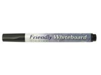 Bilde av Ballograf Friendly - Markør - Ikke-permanent - For Whiteboard - Svart - Alkoholbasert Blekk - Medium