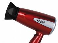 Bilde av Adler Ad 2221, Svart, Rød, Hengeløkke, 1600 W, 430 G, 480 G, 125 X 83 X 200 Mm