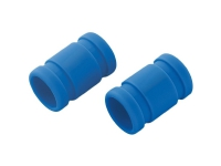 Silikoneforbinder (Ø x L) 20 mm x 33 mm Blå Reely Passer til: 249