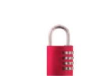 Bilde av Abus 466151, Rød, Aluminium, 55 G, 1 Stykker
