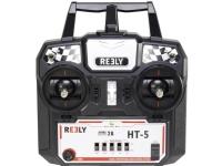 Reely HT-5 Håndcontroller 24 GHz Antal kanaler: 5 Inkl. modtager