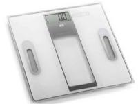 Bilde av Ade Tabea, Elektronisk Personvekt, 180 Kg, 100 G, Kg,lb,st, Rektangel, Sølv, Hvit