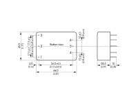 AC/DC-printstrømforsyning TracoPower TML 10212 12 V/DC 380 mA 10 W