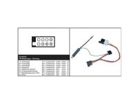 Bilde av Aiv 41c603 Iso Radioadapterkabel Aktiv Passer Til (bilmærke): Skoda, Volkswagen