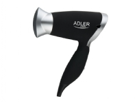 Bilde av Adler Ad 2219, Svart, Sølv, 1250 W, 230 V, 50 Hz, 450 G, 490 G