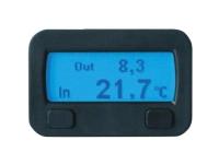 Bilde av 10320 Sinustec Termostat Termostat-funktion, Opbygning, Indbygning, Indendørs Temperatur, Udetemperatur, Is-advarselssystem, Stigningsmåler, Hældningsmåler,