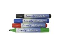 Bilde av Friendly Rosinco - Markør - For Flippover - Assorterte Farger - Medium - Pakke Av 4