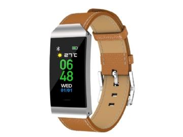 a63b190624a Denver Electronics BFH-250, Wristband activity tracker, Brun, Sølv, Metal,  Plast, Brun, One size, Unisex