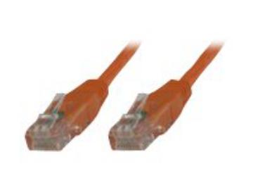 Microconnect V-UTP610O-FLAT 10m Cat6 U//UTP UTP Orange networking cable